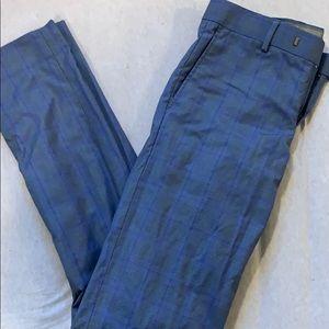 RW&Co blue suit pants